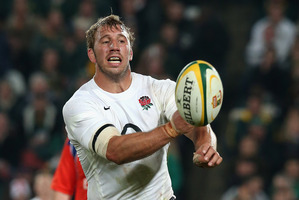 England skipper Chris Robshaw. Photo / Getty Images