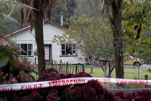 The property in Taranaki where a woman was shot. Photo / Rob Tucker