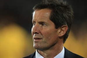 The Wallabies aren't happy with their recent performance either, coach Robbie Deans. Photo / AP