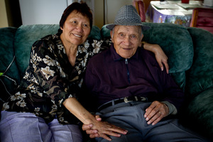 Martha Te Whata keeps husband Sol young at heart, he says.  Photo / Dean Purcell