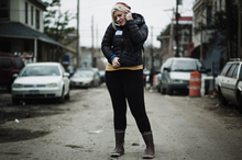 Holly Jane Butler rallied volunteers to help her New York community. Photo / Supplied 