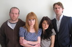 From left, Simon Ward, Michelle Blundell, Chelsea McEwan-Millar and Calum Gittins inhabit their characters well. Photo / Supplied