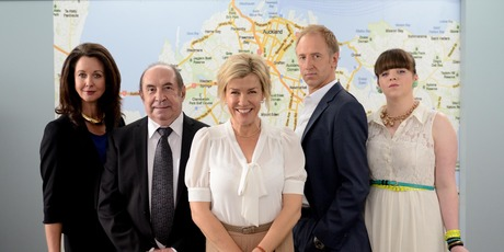 Robyn Malcolm returns to our sceens in new TVNZ show, Agent Anna. Photo / Supplied