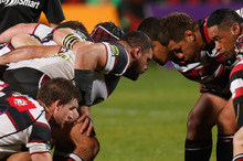 North Harbour and Counties Manukau face off at North Harbour Stadium. Photo / Getty Images