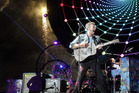 Chris Martin of Coldplay performs for fans. Photo / Getty Images