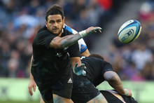 Piri Weepu showed his rugby pedigree at Murrayfield. Photo / Getty Images