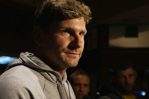 Adam Thomson of the All Blacks. Photo / Getty Images