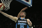 Alex Pledger of the Breakers. Photo / Getty Images