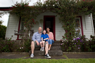 George and Melinda Rossolatos say first-home buyers should look at suburbs such as Onehunga.  Photo / Sarah Ivey