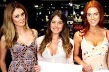 Kiwis do it differently to these Australian models displaying varying levels of cleavage. Photo / Supplied