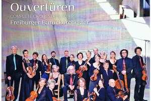 CD cover: Bach, Ouverturen. Photo / Supplied