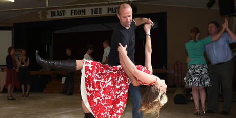 Rachel Grunwell tries out the French jive in Remuera. Photo / Getty Images