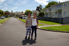 17-year-old Halahetoa Huakau (L) and her sister, 13-year-old Mya Alfred have seen big improvements on the street in the past five years. Photo / Sarah Ivey