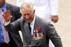 Prince Charles doesn't need to select from seven poached eggs to have a good breakfast experience. Photo / AP