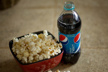 Pepsi's latest offering claims to be a fat blocking fizzy drink.Photo / File