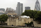 A rare security breach has been reported at the Tower of London. Photo / AP