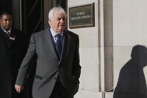 Chris Patten, Chairman of the BBC Trust. Photo / AP