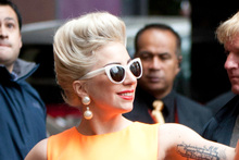 Lady Gaga. Photo / Richard Robinson