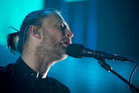 Radiohead lead singer, Thom Yorke. Photo / Greg Bowker