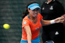 China's Zheng Jie. Photo / Natalie Slade