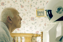 Ageing thief Frank finds unlikely uses for his robot helpmate. Photo / Supplied