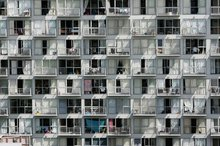 The only way to squeeze in more people is to build high-rise apartments. Photo / Chris Skelton