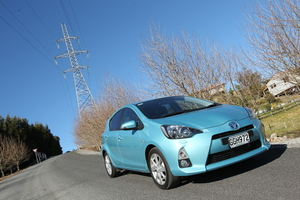 816 of the earlier models of the Prius are being recalled due to a wiring fault causing the pump motor to stop, potentially stopping the hybrid system. Photo / Bay of Plenty Times