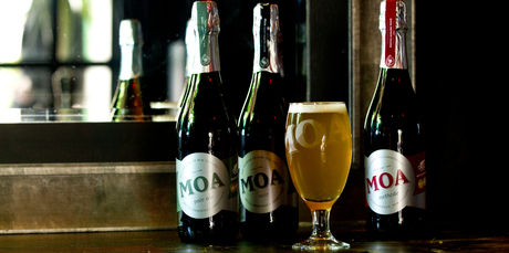 Boutique beer brewer Moa has become the first company of the year to list on the New Zealand Stock Exchange. Photo / Dean Purcell