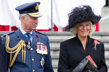 Prince Charles and the Duchess of Cornwall were in Auckland this week, but usually they are far away.  Photo / Greg Bowker