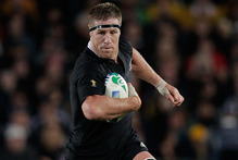 All Black lock Brad Thorn, a World Cup winner at 36 and boasted as a star signing for the Highlanders at almost 38, proves age isn't the barrier it used to be. Photo / Brett Phibbs