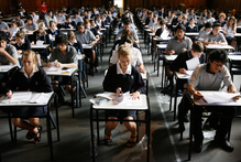 NCEA first-timers told to keep a cool head. Photo / Greg Bowker