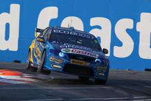 Mark Winterbottom is hoping for a good enough result this week to force a final showdown against Jamie Whincup in Sydney. Photo / Edge Photogra
