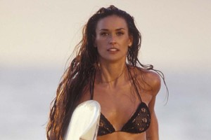 Demi Moore has been named the most coveted cougar.Photo / File