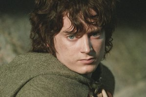 The cloak being auctioned is the same as those worn by Frodo in the movie trilogy. Photo / Supplied