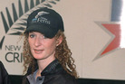 Katrina Keenan during her time as a White Ferns play. File photo / Photosport