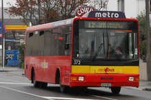 Public transport routes and infrastructure will encourage bus travel to and from the central city.. Photo / Geoff Sloan 