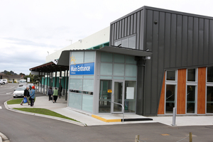 Wanganui Hospital main entrance. Photo / Tracey grant