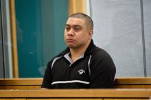 Joel Loffley at the Auckland High Court. Photo / Richard Robinson