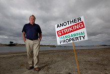 Bruce Rogan is leading the rates revolt over the sewage system. Photo / Steven McNicholl