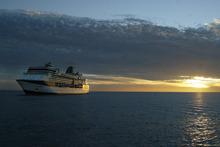The Millennium cruise liner. Photo / APN