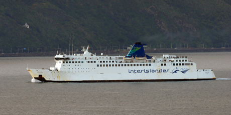 Interislander ferry. Photo / Ross Setford