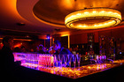 The bar at Sky City casino in Auckland. Winston Peters claims Sky City helped negotiate a deal struck by the Government which fast tracks wealthy Chinese visitors' visa applications.