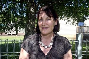 Gladstone School principal Margaret Hyslop. Photo / Wairarapa Times-Age