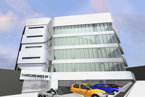 An artist's impression of the refurbished building.