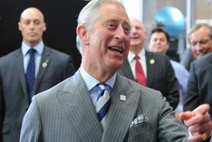 His Royal Highness Prince Charles. Photo / Ross Setford