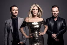 New Zealand's Got Talent judges Jason Kerrison, Rachel Hunter and Ali Campbell. Photo / Supplied