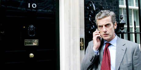 Peter Capaldi is the foul-mouthed Malcolm Tucker, in The Thick of It. Photo / Supplied