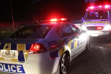 Police and ambulance officers were called to the street attack on a group of children in Masterton. Photo / File