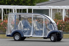 A buggy which was stolen from a retirement village in Masterton and has since been recovered by police. Photo / Supplied