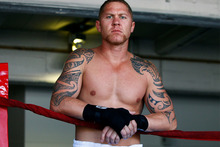 Shane Cameron should have no trouble losing a little more weight to come in under the 90.7kg limit for next week's IBO world cruiserweight title fight. Photo / William Booth.